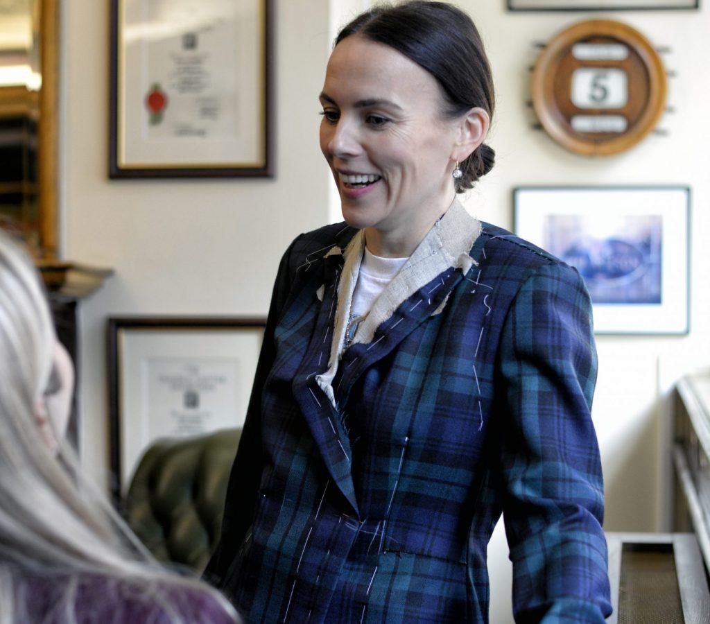 bespoke women's suits london